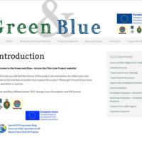 Green &amp; Blue (<em>website details</em>)