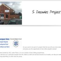 5 Decades Project (<em>website details</em>)